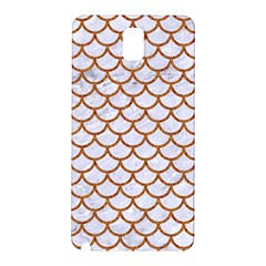 Scales1 White Marble & Rusted Metal (r) Samsung Galaxy Note 3 N9005 Hardshell Back Case by trendistuff