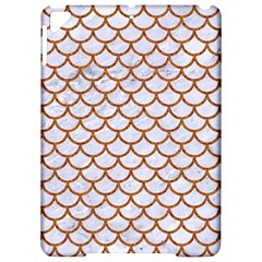 Scales1 White Marble & Rusted Metal (r) Apple Ipad Pro 9 7   Hardshell Case by trendistuff