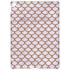 Scales1 White Marble & Rusted Metal (r) Apple Ipad Pro 12 9   Hardshell Case by trendistuff
