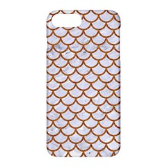 Scales1 White Marble & Rusted Metal (r) Apple Iphone 7 Plus Hardshell Case by trendistuff