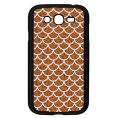 Scales1 White Marble & Rusted Metal Samsung Galaxy Grand Duos I9082 Case (black) by trendistuff