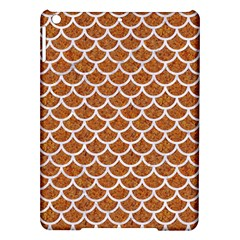 Scales1 White Marble & Rusted Metal Ipad Air Hardshell Cases by trendistuff
