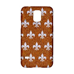 Royal1 White Marble & Rusted Metal (r) Samsung Galaxy S5 Hardshell Case  by trendistuff