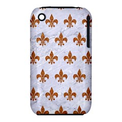 Royal1 White Marble & Rusted Metal Iphone 3s/3gs by trendistuff