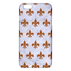 Royal1 White Marble & Rusted Metal Iphone 6 Plus/6s Plus Tpu Case by trendistuff