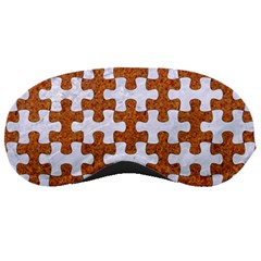 Puzzle1 White Marble & Rusted Metal Sleeping Masks by trendistuff