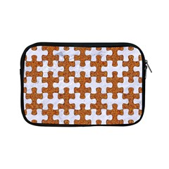 Puzzle1 White Marble & Rusted Metal Apple Ipad Mini Zipper Cases by trendistuff