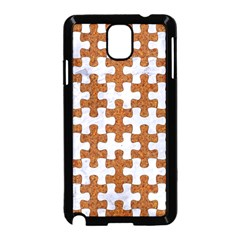 Puzzle1 White Marble & Rusted Metal Samsung Galaxy Note 3 Neo Hardshell Case (black) by trendistuff