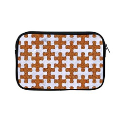 Puzzle1 White Marble & Rusted Metal Apple Macbook Pro 13  Zipper Case by trendistuff
