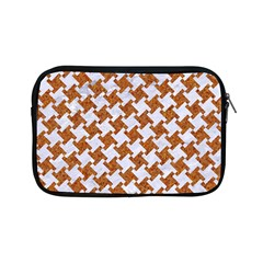 Houndstooth2 White Marble & Rusted Metal Apple Ipad Mini Zipper Cases by trendistuff