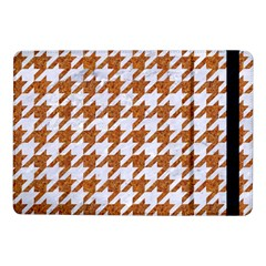 Houndstooth1 White Marble & Rusted Metal Samsung Galaxy Tab Pro 10 1  Flip Case by trendistuff