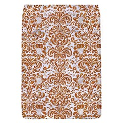 Damask2 White Marble & Rusted Metal (r) Flap Covers (s)  by trendistuff