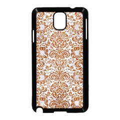 Damask2 White Marble & Rusted Metal (r) Samsung Galaxy Note 3 Neo Hardshell Case (black) by trendistuff