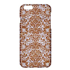 Damask2 White Marble & Rusted Metal (r) Apple Iphone 6 Plus/6s Plus Hardshell Case by trendistuff