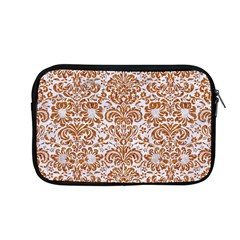 Damask2 White Marble & Rusted Metal (r) Apple Macbook Pro 13  Zipper Case by trendistuff