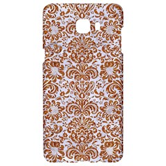 Damask2 White Marble & Rusted Metal (r) Samsung C9 Pro Hardshell Case  by trendistuff