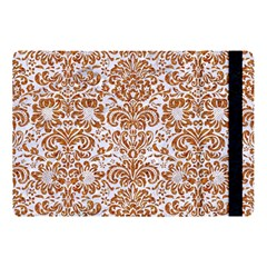 Damask2 White Marble & Rusted Metal (r) Apple Ipad Pro 10 5   Flip Case by trendistuff