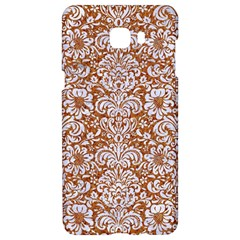 Damask2 White Marble & Rusted Metal Samsung C9 Pro Hardshell Case  by trendistuff