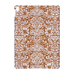 Damask2 White Marble & Rusted Metal Apple Ipad Pro 10 5   Hardshell Case by trendistuff
