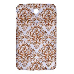 Damask1 White Marble & Rusted Metal (r) Samsung Galaxy Tab 3 (7 ) P3200 Hardshell Case  by trendistuff