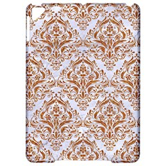 Damask1 White Marble & Rusted Metal (r) Apple Ipad Pro 9 7   Hardshell Case by trendistuff