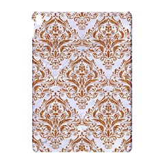 Damask1 White Marble & Rusted Metal (r) Apple Ipad Pro 10 5   Hardshell Case by trendistuff