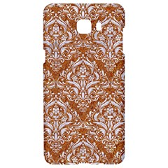 Damask1 White Marble & Rusted Metal Samsung C9 Pro Hardshell Case  by trendistuff
