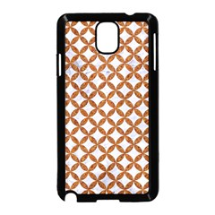 Circles3 White Marble & Rusted Metal (r) Samsung Galaxy Note 3 Neo Hardshell Case (black) by trendistuff