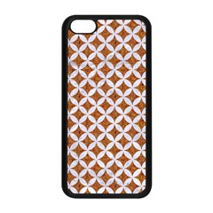 Circles3 White Marble & Rusted Metal Apple Iphone 5c Seamless Case (black) by trendistuff