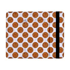 Circles2 White Marble & Rusted Metal (r) Samsung Galaxy Tab Pro 8 4  Flip Case by trendistuff