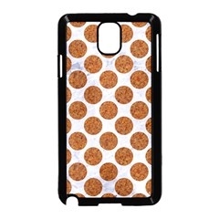 Circles2 White Marble & Rusted Metal (r) Samsung Galaxy Note 3 Neo Hardshell Case (black) by trendistuff