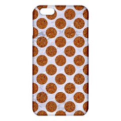 Circles2 White Marble & Rusted Metal (r) Iphone 6 Plus/6s Plus Tpu Case by trendistuff