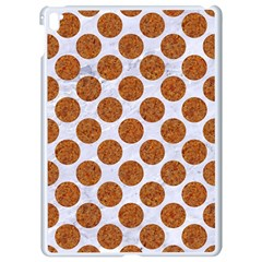 Circles2 White Marble & Rusted Metal (r) Apple Ipad Pro 9 7   White Seamless Case by trendistuff