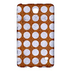 Circles1 White Marble & Rusted Metal Samsung Galaxy Tab 4 (8 ) Hardshell Case  by trendistuff