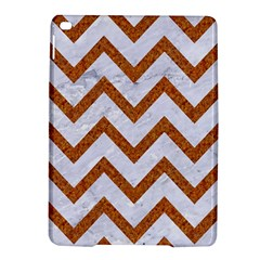 Chevron9 White Marble & Rusted Metal (r) Ipad Air 2 Hardshell Cases by trendistuff