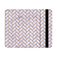 Brick2 White Marble & Rusted Metal (r) Samsung Galaxy Tab Pro 8 4  Flip Case by trendistuff
