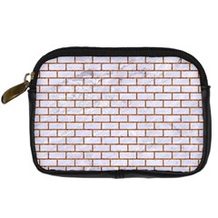 Brick1 White Marble & Rusted Metal (r) Digital Camera Cases by trendistuff