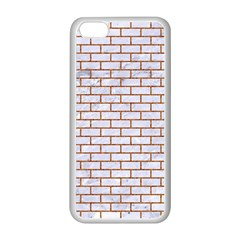 Brick1 White Marble & Rusted Metal (r) Apple Iphone 5c Seamless Case (white) by trendistuff