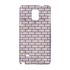 Brick1 White Marble & Rusted Metal (r) Samsung Galaxy Note 4 Hardshell Case by trendistuff