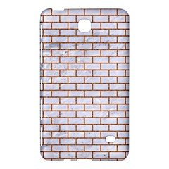 Brick1 White Marble & Rusted Metal (r) Samsung Galaxy Tab 4 (8 ) Hardshell Case  by trendistuff