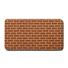 Brick1 White Marble & Rusted Metal Medium Bar Mats by trendistuff