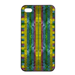 Summer Night After The Rain Decorative Apple Iphone 4/4s Seamless Case (black)