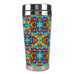 Pattern 16 Stainless Steel Travel Tumblers by ArtworkByPatrick