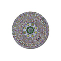 Summer Bloom In Floral Spring Time Magnet 3  (round) by pepitasart