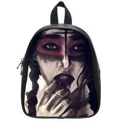 Femininely Badass School Bag (small) by sirenstore