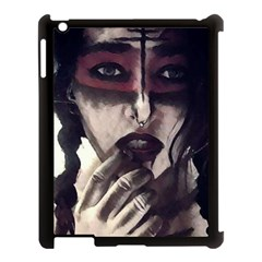 Femininely Badass Apple Ipad 3/4 Case (black) by sirenstore
