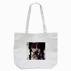 Femininely Badass Tote Bag (white) by sirenstore