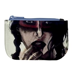 Femininely Badass Large Coin Purse by sirenstore