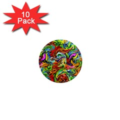 Pattern 21 1  Mini Magnet (10 Pack)  by ArtworkByPatrick