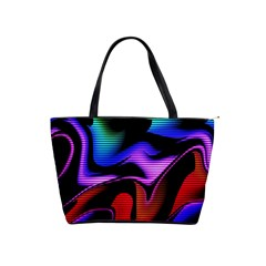 Hot Abstraction With Lines 2 Shoulder Handbags by MoreColorsinLife